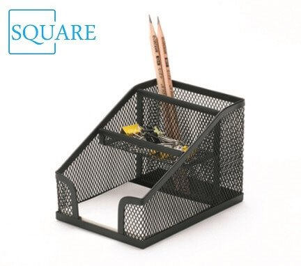 Mesh Office Organizer Pencil Storage