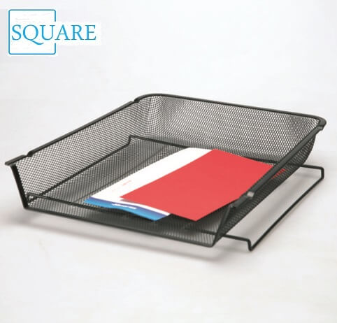 Wire Mesh Stackable Document Paper Letter Tray