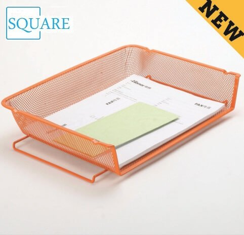 Steel Mesh Stackable Paper Letter Document Tray