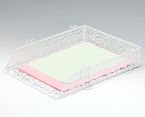 Punched Metal Letter Tray