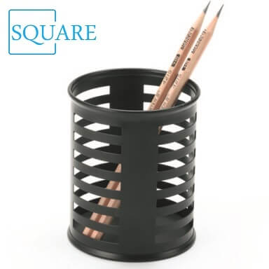 Punched Metal Pencil Cup