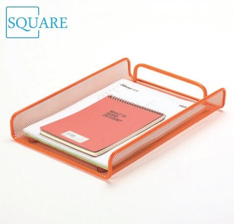 Metal Mesh File Letter Paper Tray