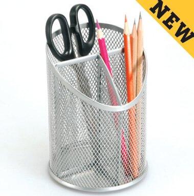 Sorter Pencil Cup Holder Pen Desk Organizer Office Storage