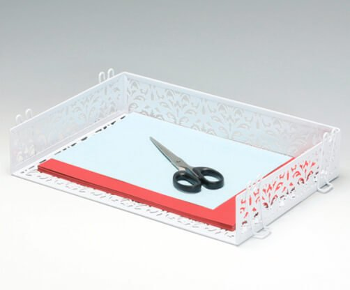 Punched Metal Document Tray