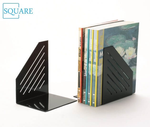 Metal Slotted Bookends