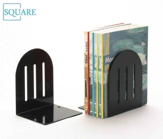Metal Heavy Duty Slotted Bookends